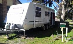 Windsor Genesis semi off road caravan with full