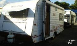 WINDSOR MKII, 1992, WHITE, Caravan, 5.03 x 2.29, 1992