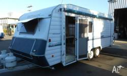 "19' x 7'9"" ""The Royal"" "" Widsors Best Touring Caravan"""