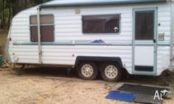 Statesman Royale C/van double bed at front- shower &