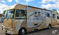 Winnebago Explorer 31ft Automatic Slide-Out Motorhome,