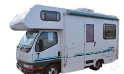 Winnebago Freeway Mitsubishi Canter, Motorhome, S/N