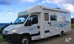 Winnebago Freewind, 2008, White, Motorhome, Travel