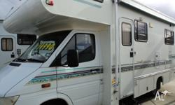 Mercedes chassis 6 berth Separate shower and toilet,