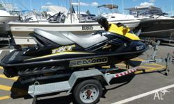 WINTER SPECIAL SEADOO 2007 RXT 72HRS YOUNG(3 SEAT) 215