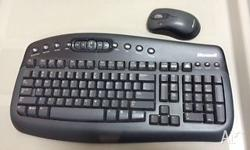 For sale is a set of wireless Microsoft keyboard and