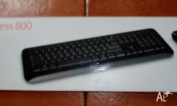 Matched wireless keyboard and mouse in unopened