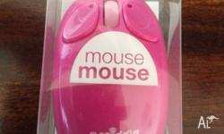 Smiggle pink wireless mouse. Never used. Can pick up or