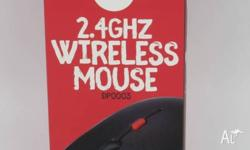 Wireless 2.4 Ghz Mouse is designed for Laptop or PC.