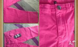 Women's brand new with tags Size 34 3/4 pink jeans