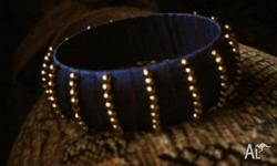 Handmade bangles in classic colors and in beautiful