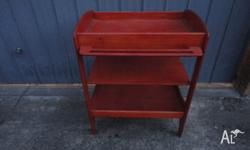 Change table in very good condition and comes with