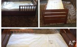 2x toddler beds with mattresses still in plastic Draw