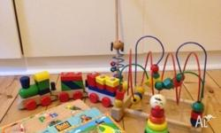 Bundle of wooden toys as per picture. Have added a