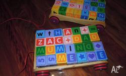 2 wagons filled with different coloured number and