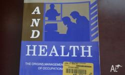 Work and Health Edited by Michael Quinlan Pb. The