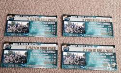 4x2 player World Series paintball tickets look on the