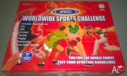 Worldwide Sports Challenge Board Game - WWSC Includes