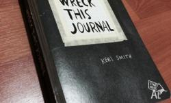 New wreck this journal book for sale. Unwanted gift.