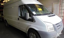 We are currently wrecking this 2008 Ford Transit 2.4