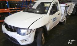 We are currently wrecking this 2010 MITSUBISHI TRITON