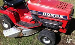 wrecking honda ride on mowers many s/hand parts