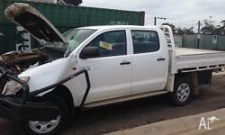 JUST HILUX is currently wrecking Toyota Hilux 2012