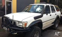 WRECKING Toyota Hilux LN130 Wagon - All parts Just