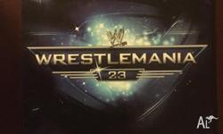 Wrestlemania 23 The Ultimate Limited Edition. As new,