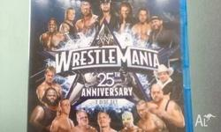 BRAND NEW IN SEALED CASE WWE WRESTLEMANIA 25th