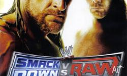 WWE Smackdown VS Raw 2009 video game for the Nintendo