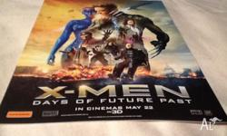 A double movie pass to see X-Men Days of Future Past in