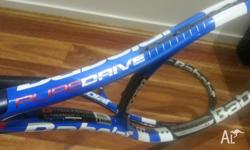 For sale are 2 Babolat Pure Drive tennis racquets. 2011
