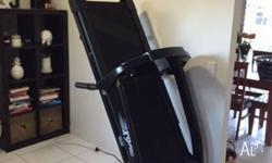 X9 pro black treadmill - less than 12mths old Purchased