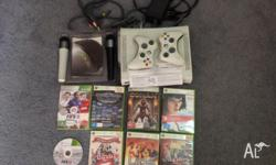 Xbox 360 Console (including cables) + 2 Wireless