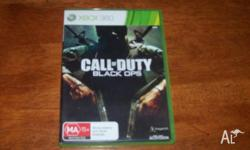 Call of Duty: Black Ops for Xbox 360 is a first-person