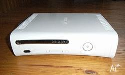 I have an Xbox 360 with R C, Power and AV cables, one