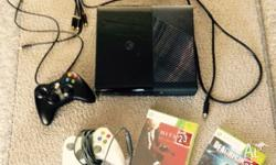 Used xbox 360 E Great condition Comes with 2