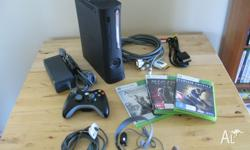 Well looked after Xbox Console 360 with the following