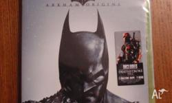 New and sealed Batman Arkham Origins video game for