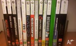 Selling all my games, as I no longer have my xbox 360