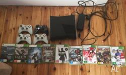 Xbox 360 slim 250GB. Great condition, one and a half
