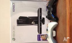 Here is a Xbox 360 with kinect in great condition with