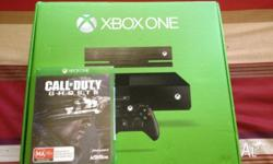 I am selling an Xbox one brand new with Call of Duty