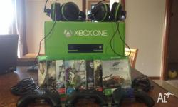 I have an Xbox1 for sale with 8 games 2 turtle beach