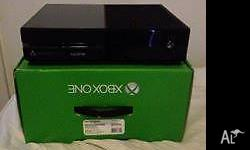 Xbox One 500GB console only ever been used to play