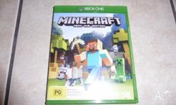 xbox one minecraft xbox one edition in excellent