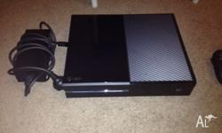 Xbox One and controller in excellent condition. Charger