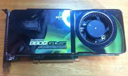 For Sale: XFX 8800 GTS 512MB Alpha Dog Core 650Mhz 512