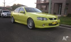 2002 xr6 turbo excellent condition. Mature owner. 430